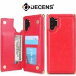 데켄스 M689 갤럭시 메탈 가죽 휴대폰