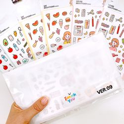DECO STICKER PACK - VER.09 (칼선스티커)