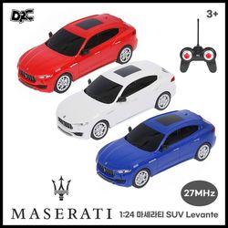 정식라이센스 1:24 RC카 마세라티 SUV Levante 랜덤