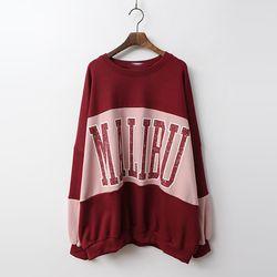 Malibu Boxy Sweatshirt