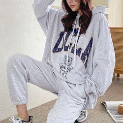 Angel Hood Boxy Sweatshirt