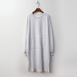 Trend Cotton Pocket Long Dress