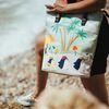 [mumka] Penguin Family on Vacation Tall bag