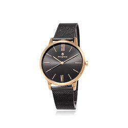 [Timepieces] 세련된 블랙라인 남성용 메쉬시계 OTC120T01TPB