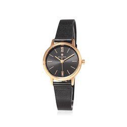 [Timepieces] 세련된 블랙라인 여성용 메쉬시계 OTC220T01TPB