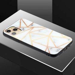아이폰12맥스 유니크 패턴 글라스 하드 케이스 P458