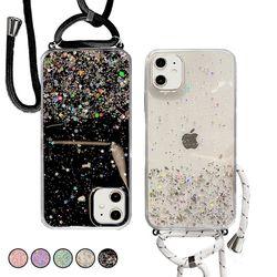 아이폰8플러스 반짝이 글리터 젤리 케이스 P552