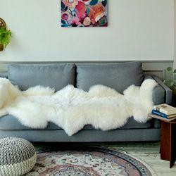 초대형 천연 양털 (75x200cm)