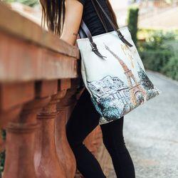 [mumka] Paris Wide bag