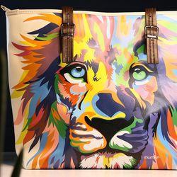 [mumka] The Lion King Colors Wide bag