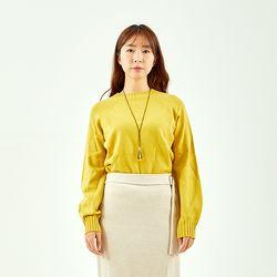 안티필링 무봉제 볼륨소매 스웨터 TUKR20TG2