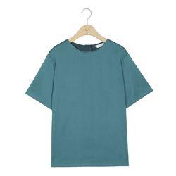 [W Lounge] 실켓 배색 티셔츠 (2colors) TMHWA26W21