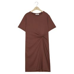 [W Lounge] 실켓 티셔츠 원피스 (4colors) TMHWA26W23