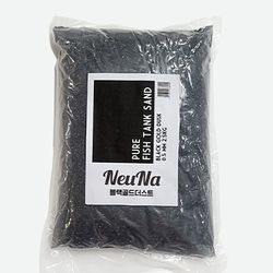 느나 퓨어 어항샌드 블랙골드더스트 0.5mm (2.5kg)