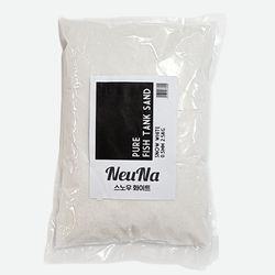 느나 퓨어 어항샌드 스노우화이트 0.5mm (2.5kg)