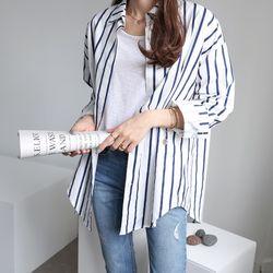 앤즈 스트라이프 셔츠