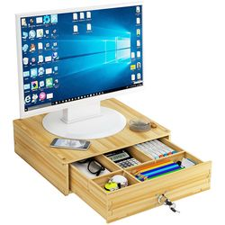 PH DIY 모니터 선반 받침대 책상정리 수납함