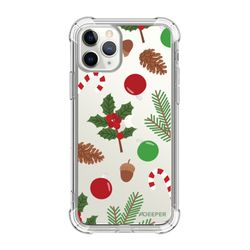 뮤즈캔 ADEEPER 아이폰11 프로 크리스마스 패턴 탱크방탄 케이스