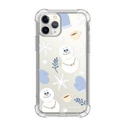 뮤즈캔 ADEEPER 아이폰 11 프로 겨울 패턴 탱크방탄 케이스