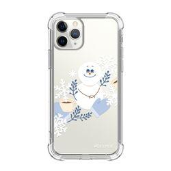 뮤즈캔 ADEEPER 아이폰 11 프로 겨울 스티커 탱크방탄 케이스