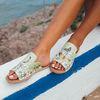 [mumka] Butterflies Flat sandal