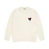 Heart Round Knit (cream)