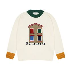 House Round Knit (cream)