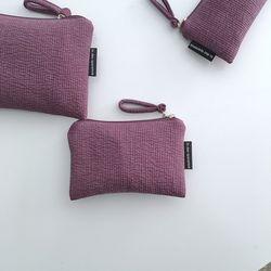 다크 퍼플 파우치(Dark purple pouch) - small