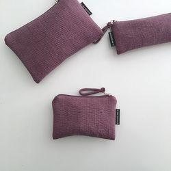 다크 퍼플 파우치(Dark purple pouch) - medium