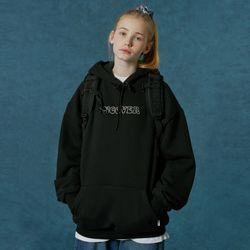 Hotfix logo hoodie-black