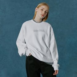 Hotfix logo sweatshirt-white