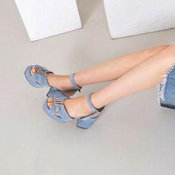 [키데이]스트랩 샌들 banky sandal bl