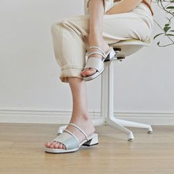 [키데이] 2way 샌들 staple sandal white