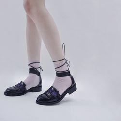 [키데이] 스트랩로퍼 Bind me strap loafer black
