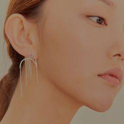 와유자기 귀걸이-숏 _Wayuzagi earring-short