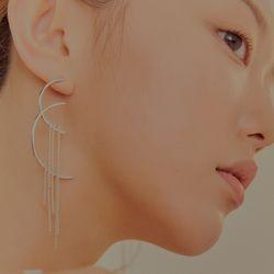 와유자기 귀걸이-롱_Wayuzagi earring-long