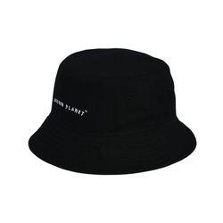 [상세이미지 누락] 로고 버킷햇 BLACK