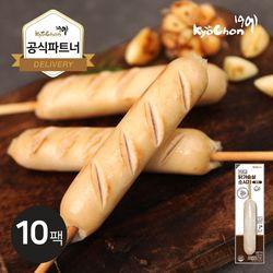 [교촌] 닭가슴살 소시지 (갈릭) 70g 10팩