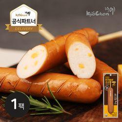 [교촌] 닭가슴살 스모크소시지 (치즈) 70g