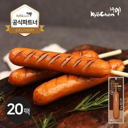 [교촌] 닭가슴살 스모크소시지 (오리지널) 70g 20팩
