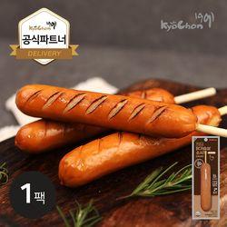 [교촌] 닭가슴살 스모크소시지 (오리지널) 70g