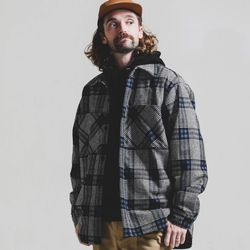 [스테이지 네임]NEWTRO Wide Pocket Shirt 자켓_BLUE