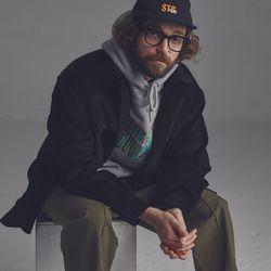 [스테이지네임] [골덴]STG 코듀로이 셔츠 자켓 블랙