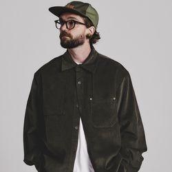 [스테이지네임] [코듀로이] 코듀로이 2 셔츠 자켓 카키 브라운
