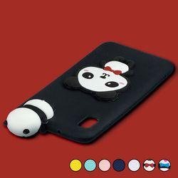 아이폰7플러스 말랑 3D 캐릭터 실리콘 케이스 P551