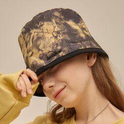 [러브이즈트루] [러브이즈트루] PO TIE DYE BUCKET HAT (BLACK)