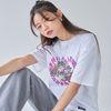 [러브이즈트루] LVG HEART KITTY TEE (WHITE) 티셔츠