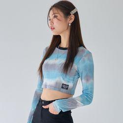 [러브이즈트루] LVG TIE DYE LS T (SKY BLUE) 티셔츠