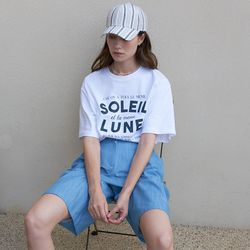 [라티젠]LTG4 SET TWO TUCK SHORTS (BLUE) 숏팬츠