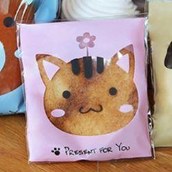 [레드비샵] 고양이 10x11 접착 봉투  20매